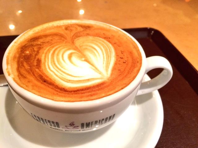 カフェでほっと一息
